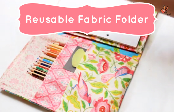 Cute-School-Supplies-Reusable-Fabric-Folder