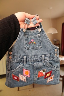 Overalls Lunch Tote