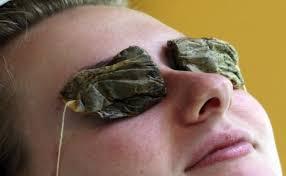 tea bag eyes