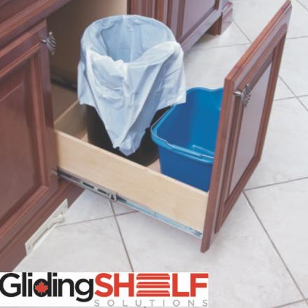 gliding shelf
