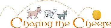 Chasing the Cheese logo