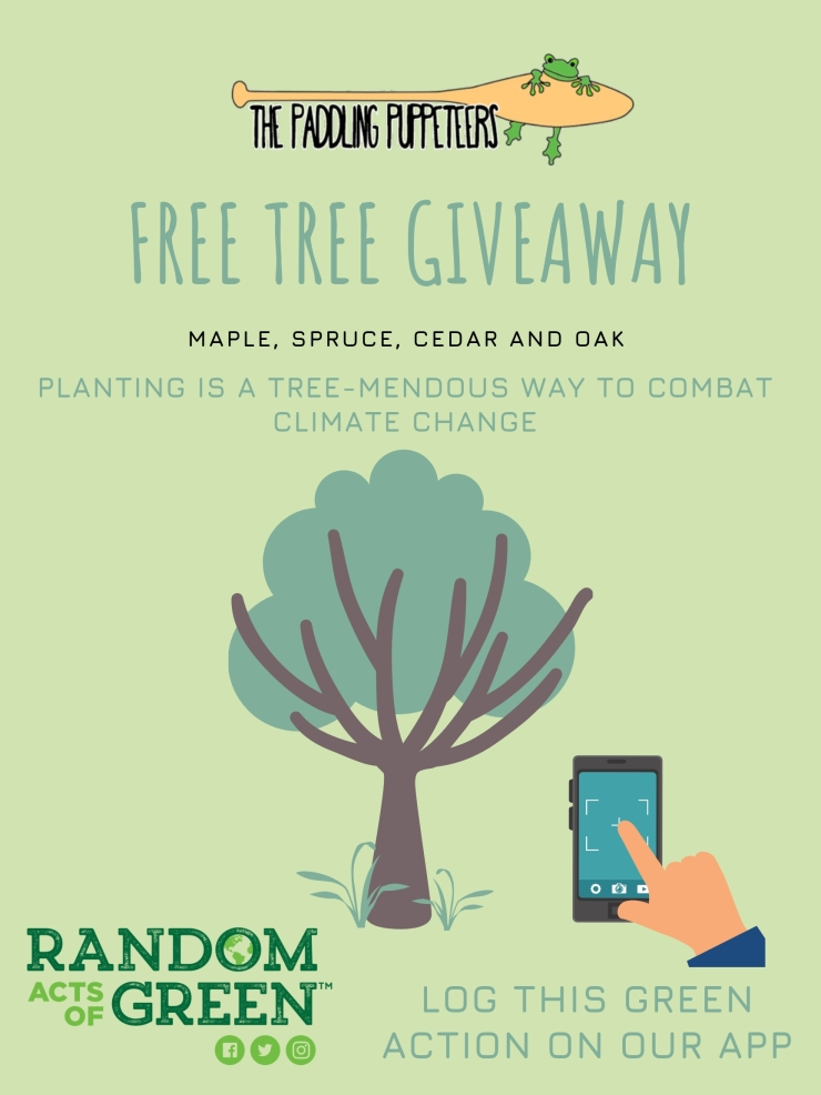 Free Tree Giveaway 2.0